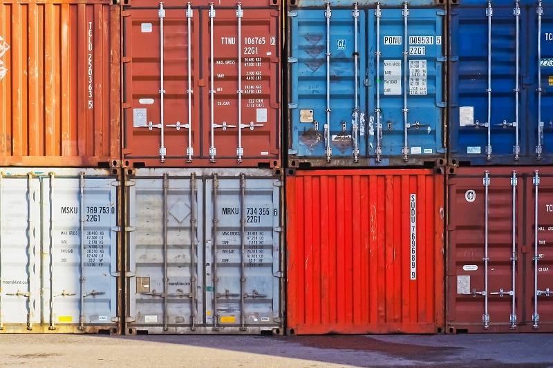 Colorful Shipping Containers | Process for Moving Overseas | AW Transportation